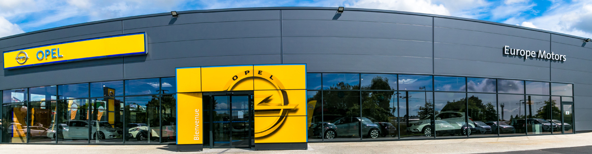 Photo de la concession Europe Motors Opel à Brest